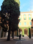 Courtyard of the villa
